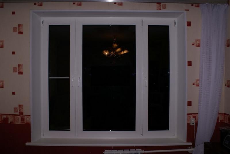 Окно ПВХ 1500*2200 пластиковое в спальную комнату., цена 356 $, купить Марьина Горка - Deal.by (ID# 3231771)