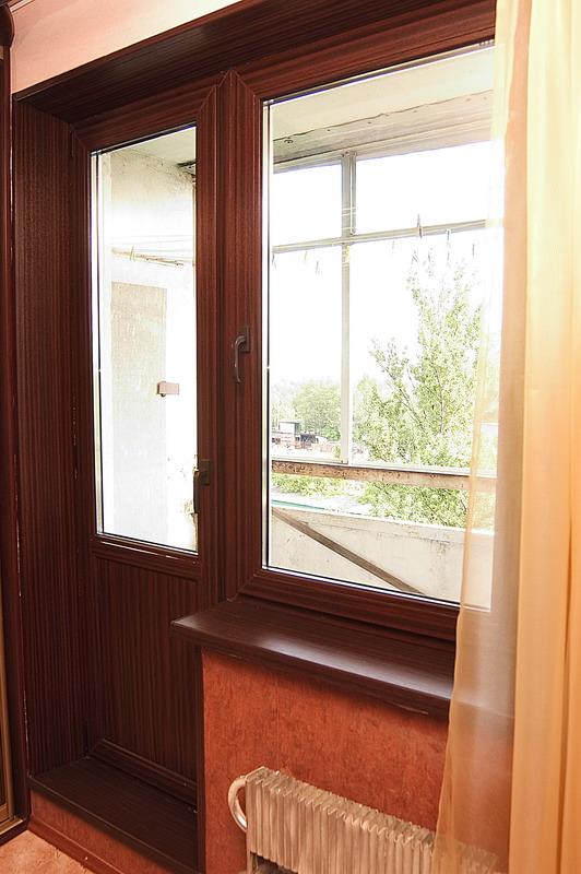 Окна и откосы.